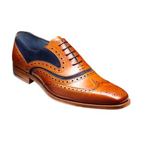 Barker McClean in cedar and blue