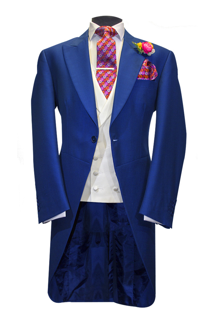 french navy tails morning suit