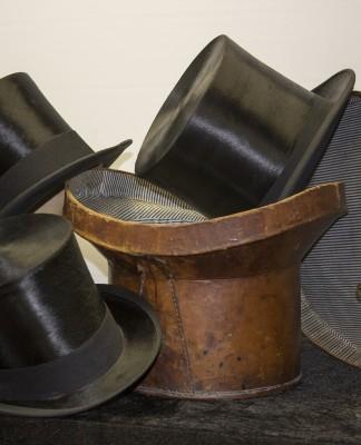 Silk top hats