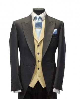 new morning suit black