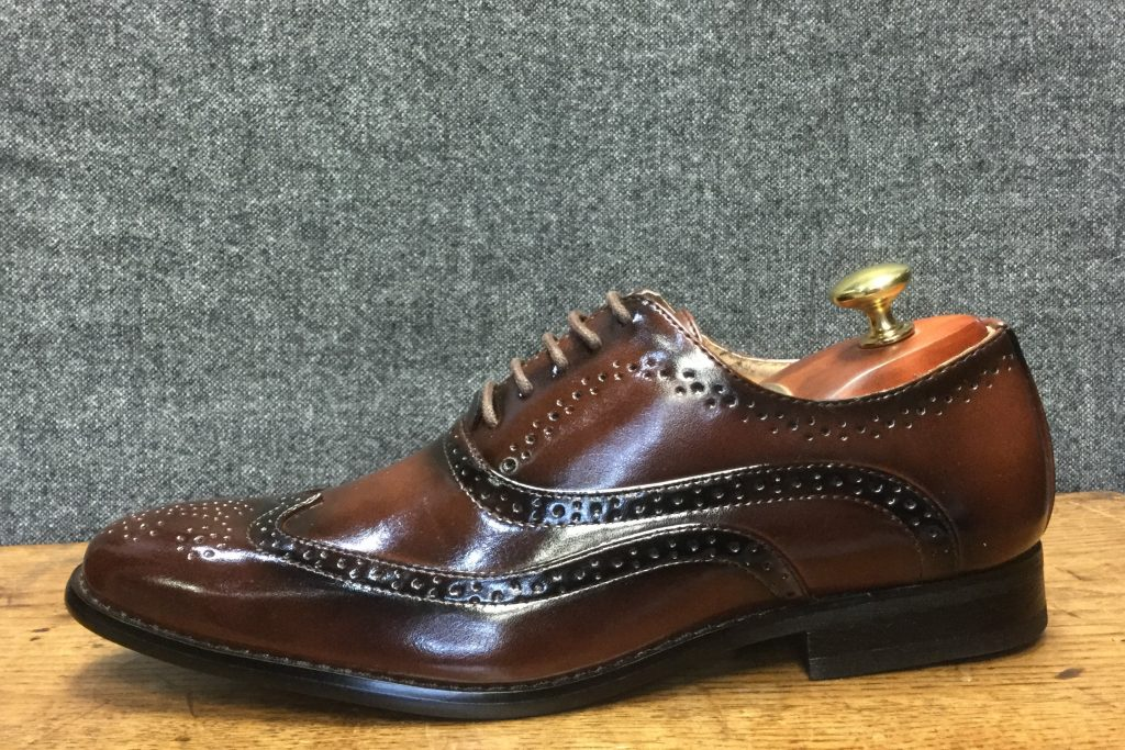 Brown Brogue Formal Wear Mens Shoe