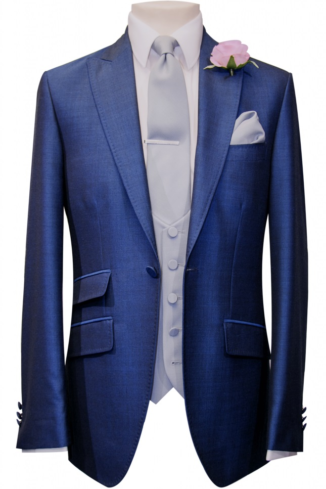 Black Tie Online Suits To Buy French Navy Three Piece Suit
