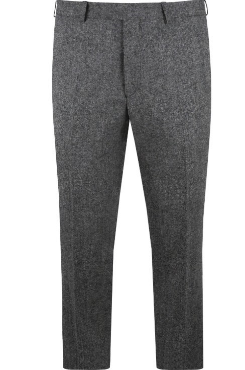 Heritage Grey Tweed Mens Suit Trousers by Black Tie Menswear, Berkshire