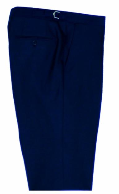 Navy Mohair Mens Suit Trousers by Black Tie Menswear, Berkshire