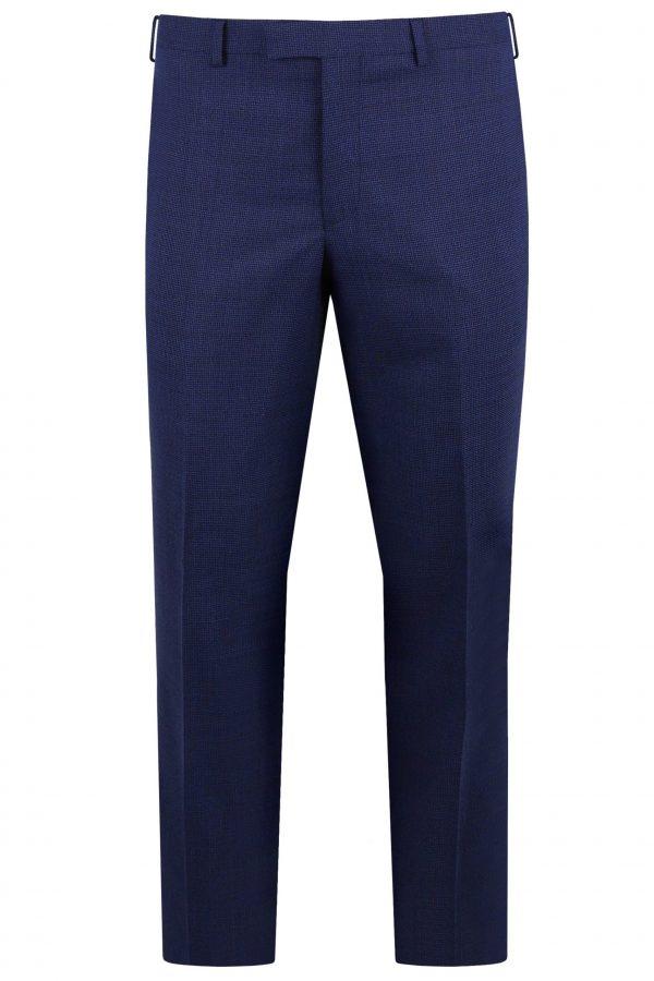 Navy Wool Mens Wedding Suit Trousers by Black Tie Menswear, Berkshire