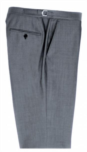 Silver Mohair Mens Wedding Suit Trousers by Black Tie Menswear, Berkshire