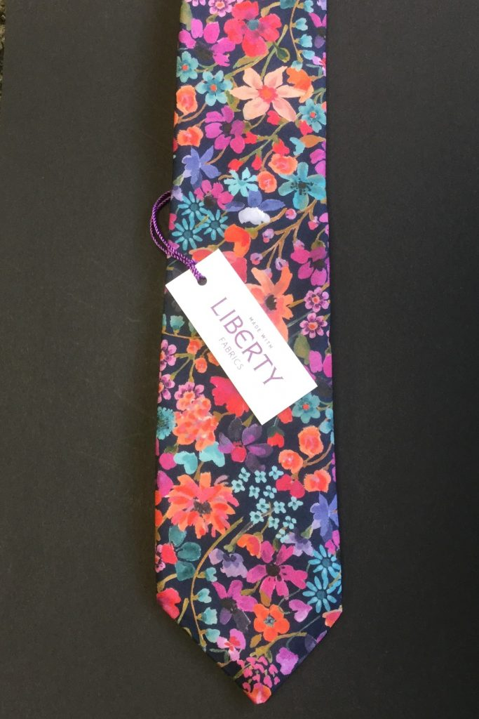 Dreams of Summer Liberty of London cotton fabric tie