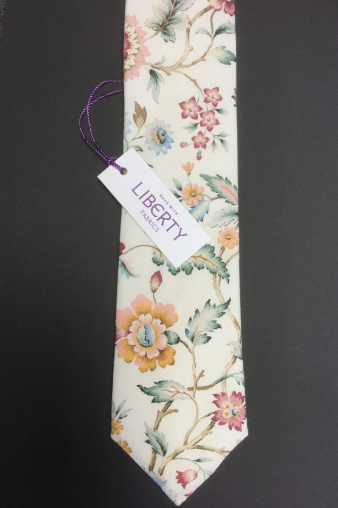 Eva Belle Liberty of London cotton fabric floral tie