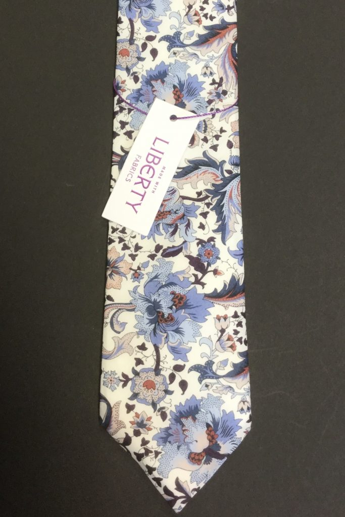Flora Liberty of London cotton fabric floral Tie
