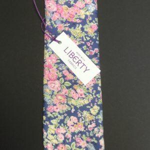 Tatum Liberty of London cotton fabric floral tie