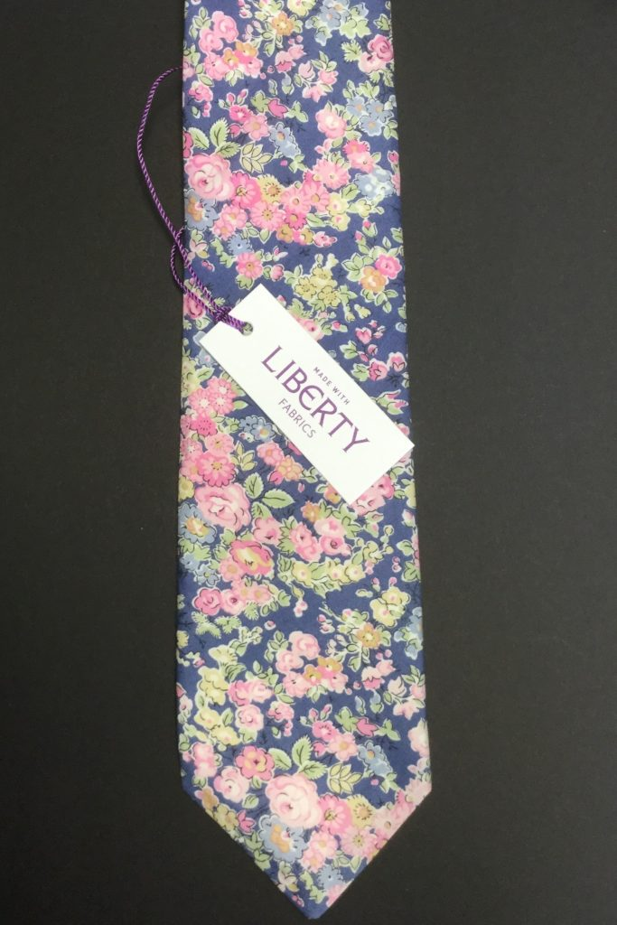 Tatum Liberty of London cotton fabric floral tie
