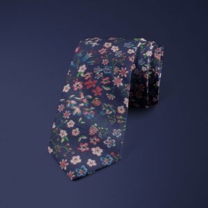 Donna Leigh Liberty of London cotton fabric floral tie