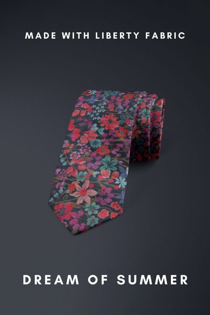 Dream Of Summer Liberty of London cotton fabric floral tie