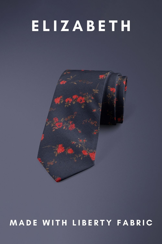Elizabeth Liberty of London cotton fabric floral tie