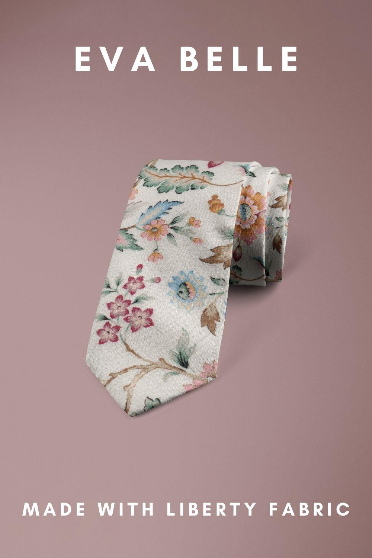 Eva Belle Liberty of London cotton fabric floral tie