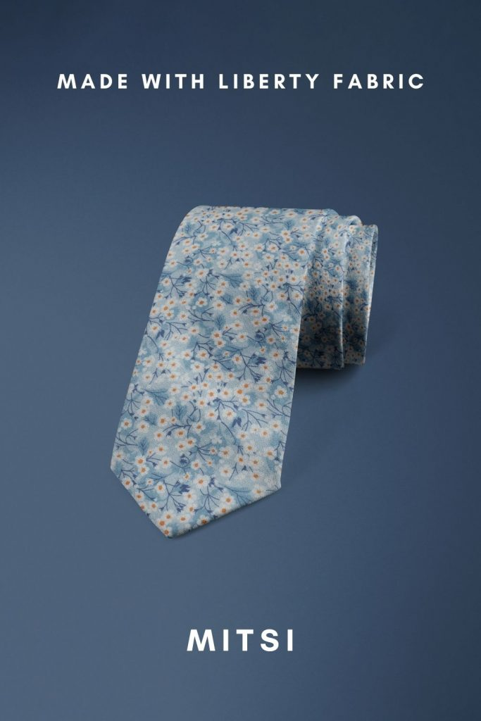 Mitsi Liberty of London floral cotton tie