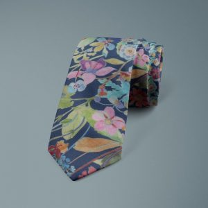 Proposal Liberty of London cotton fabric floral tie