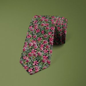 Ragged Robin Liberty of London cotton fabric floral tie