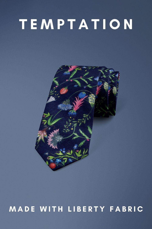 Temptation Liberty of London cotton fabric floral tie
